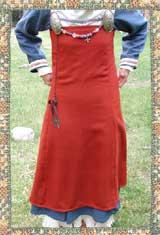 Kysk vikingatida kvinna. Foto av Historiska världar